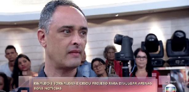 Ex-apresentador da Band diz na Globo que filha não o assistia na TV por só ter notícia ruim - Reprodução/Band