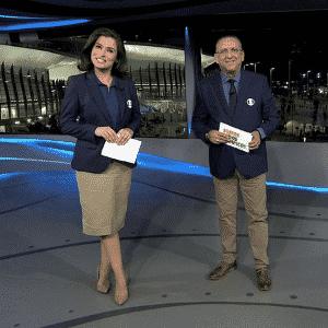 Galvão pressiona Brasil por mais medalhas - Reprodução/TV Globo