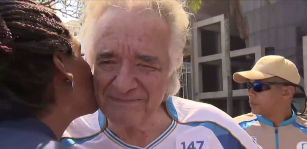 João Carlos Martins em entrevista para SporTV - Reprodução