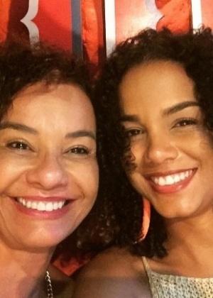 Solange Couto com a filha, Morena Mariah - Reprodução/Instagram/solangecouto