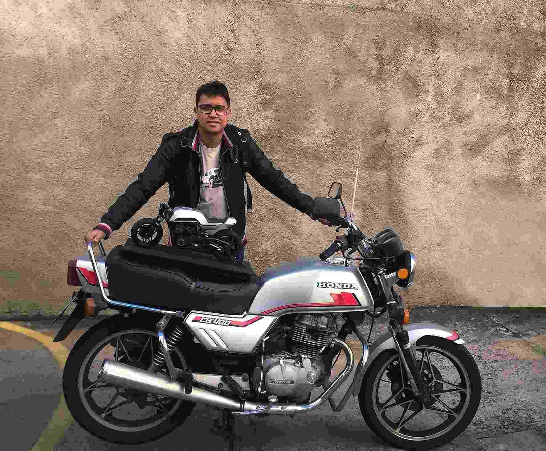 Honda CB 400 reimaginada - Reprodução/Arquivo pessoal