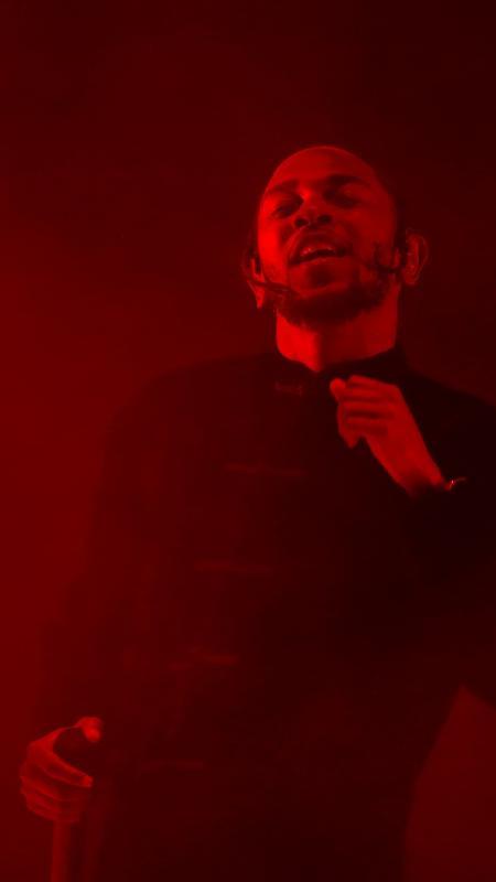 Kendrick Lamar se apresenta no Coachella - Carlo Allegri/Reuters