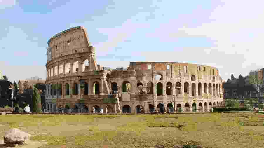O Coliseu é um dos principais pomntos turísticos de Roma - Reprodução