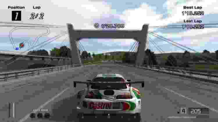 """Este é """"Gran Turismo 4"""", aclamado clássico do PlayStation 2. Antiguidade? - Reprodução"""