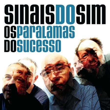 """Capa do single """"Sinais do Sim"""" do Paralamas - Divulgação"""