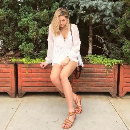 Sasha posa em Nova York - Reprodução/Instagram