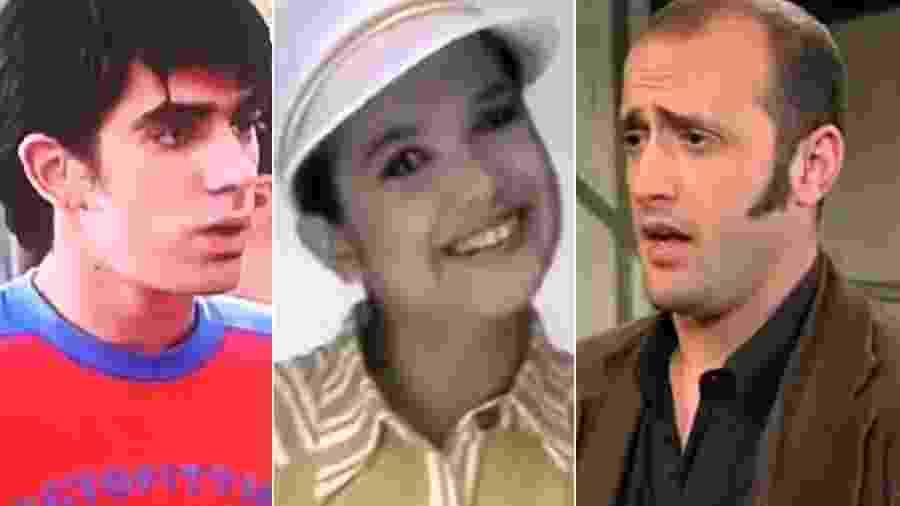 Marcelo Adnet, Sandra Annenberg e Paulo Gustavo tiveram estreias curiosas na TV - Montagem/UOL
