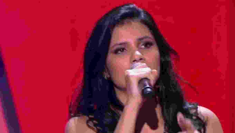 """Participante do """"The Voice Brasil"""" - Reprodução/TV Globo"""
