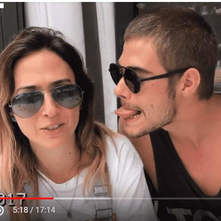 Tatá Werrneck e Rafael Vitti - Reprodução/YouTube