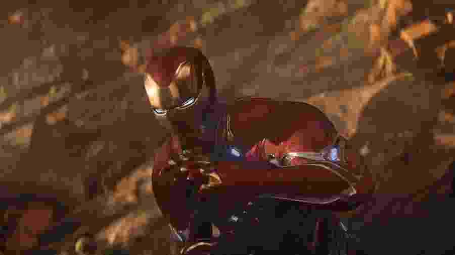 """Homem de Ferro em """"Vingadores: Guerra Infinita"""" - Divulgação"""