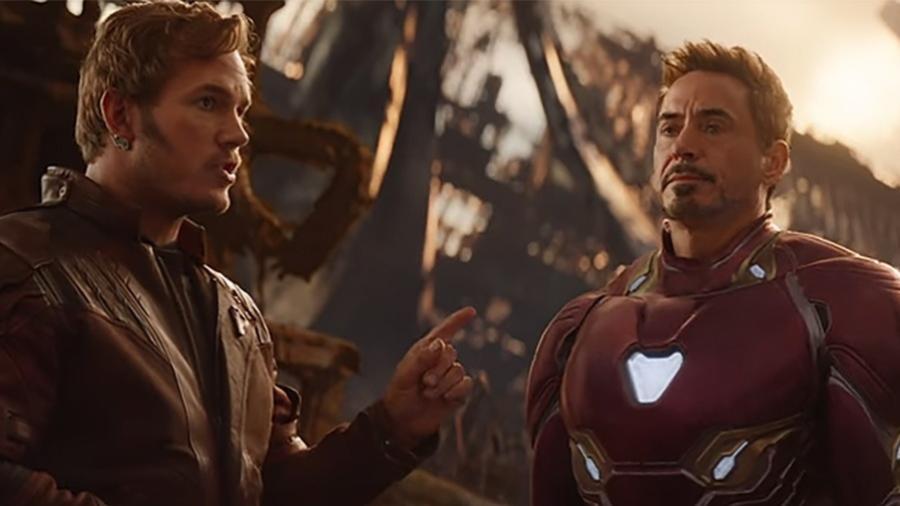 """Cena do filme """"Vingadores: Guerra Infinita"""" - Reprodução"""