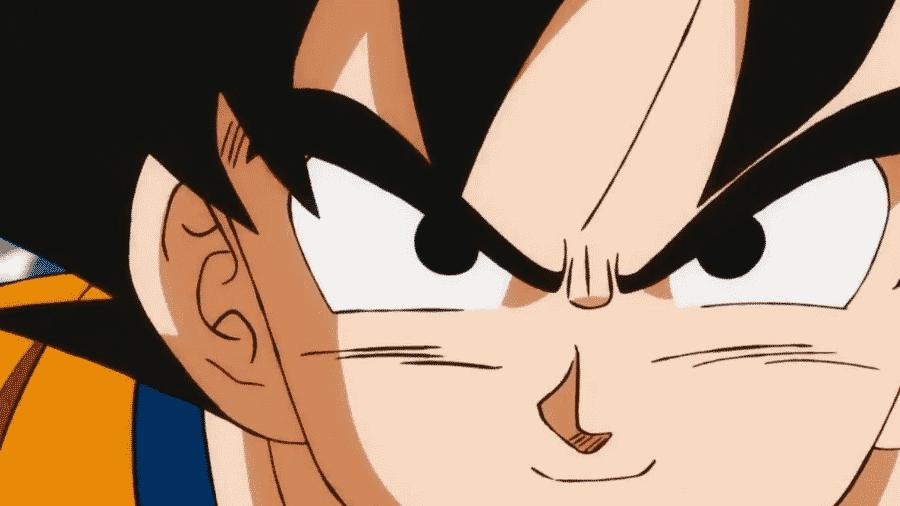 """Goku em cena do filme """"Dragon Ball Super"""" - Reprodução"""