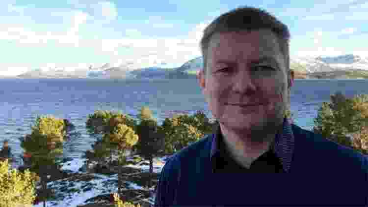 Lars Magne Andreassen, diretor de um centro comunitário sami em Drag - Divulgação/BBC - Divulgação/BBC