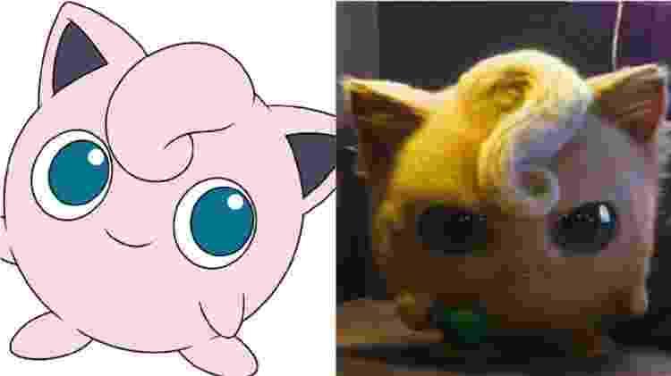 Jigglypuff comparação - Reprodução - Reprodução