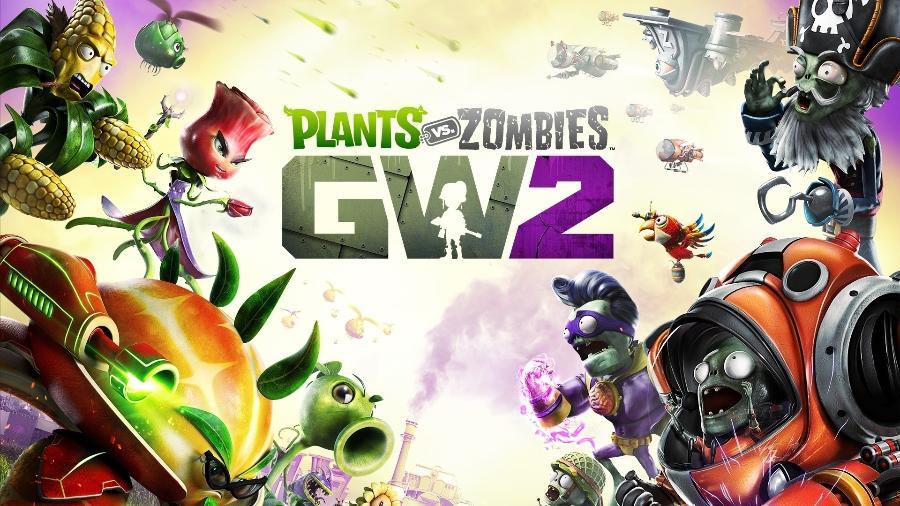 """""""Plants vs. Zombies Garden Warfare 2"""" é um dos destaques da Games with Gold no Xbox One. - Reprodução"""