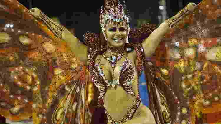 Viviane Araújo - Veja fotos da Salgueiro no Desfile das Campeãs - Bruna Prado/UOL - Bruna Prado/UOL