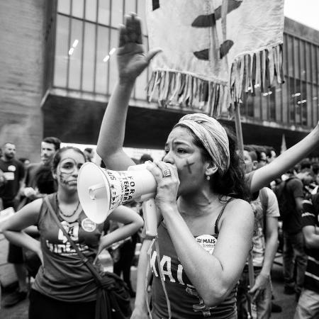 Manifestação feminista - Getty Images