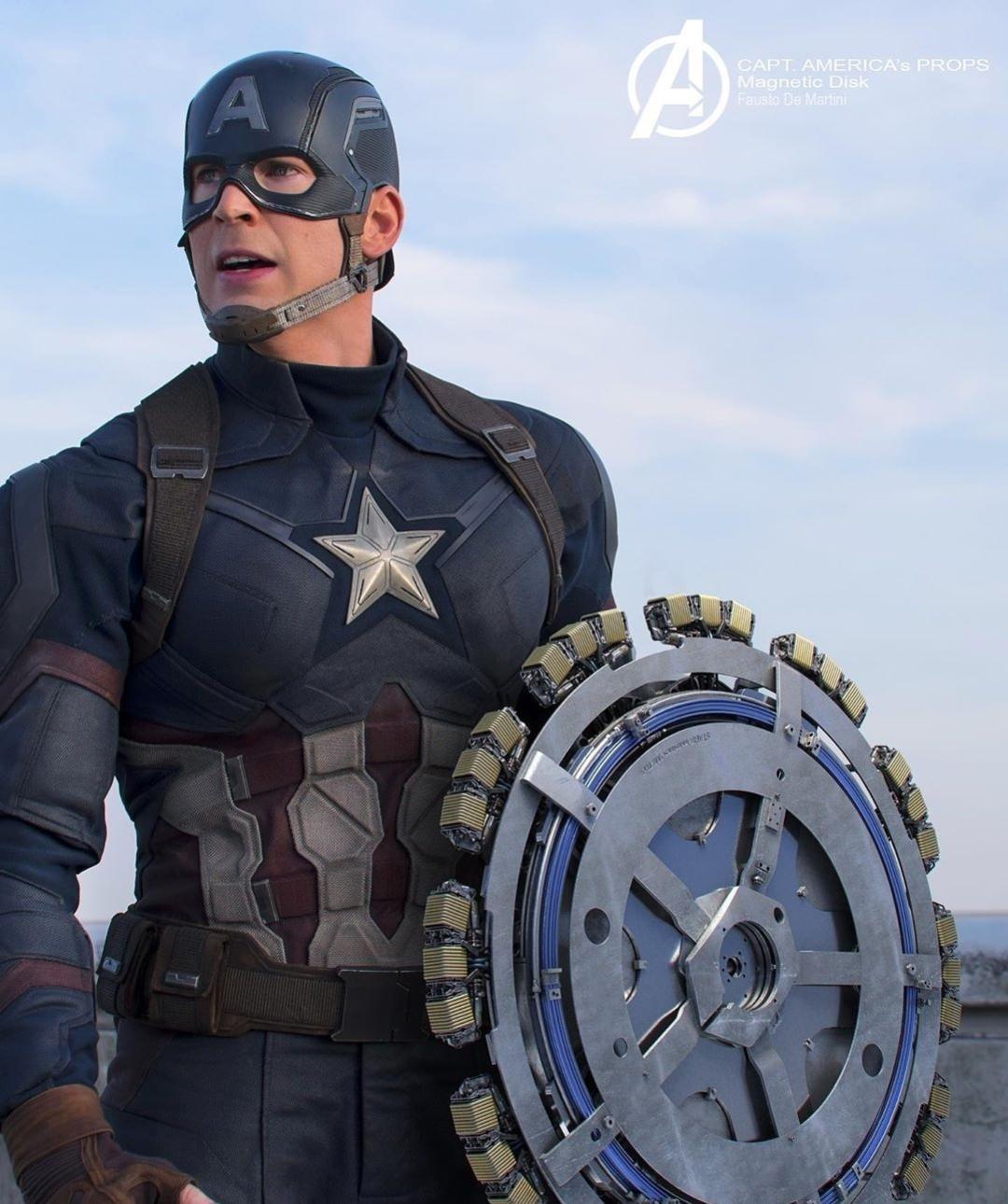 Vingadores Capitao America Quase Teve Um Escudo Como Nunca Vimos