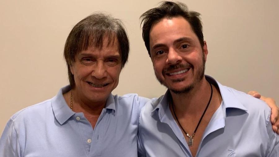 Roberto Carlos faz tratamento capilar com o médico Thiago Bianco - Reprodução/Instagram