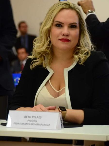 Beth Pelaes, prefeita de Pedra Branca do Amapari, no Amapá - Divulgação