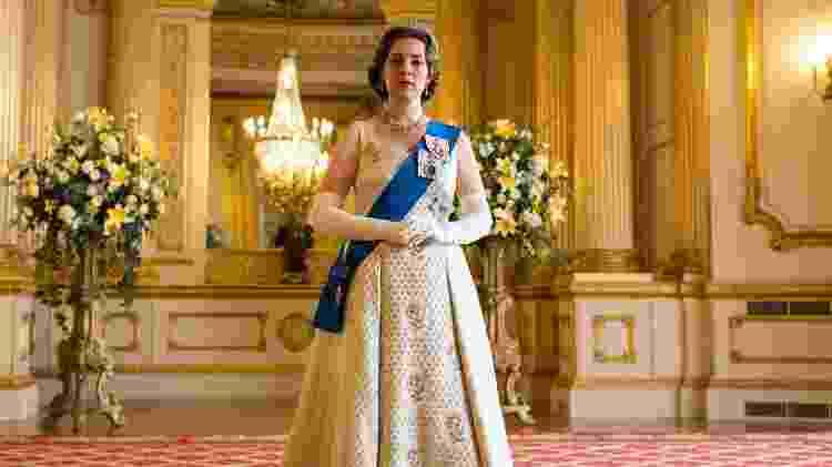 Olivia Colman como a rainha Elizabeth 2ª em The Crown - Sophie Mutevelian/Netflix - Sophie Mutevelian/Netflix