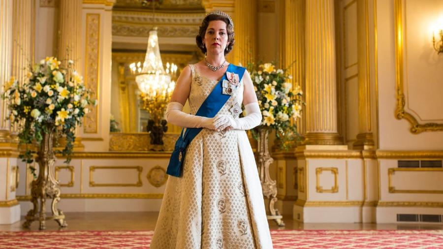 "Olivia Colman interpreta a Rainha Elizabeth 2ª na terceira temporada de ""The Crown"" - Sophie Mutevelian/Netflix"