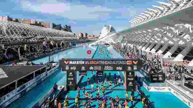 Maratona de Valência, chegada - divulgação - divulgação