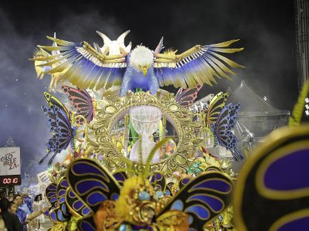 Resultado de imagem para aguia de campea do carnaval 2020