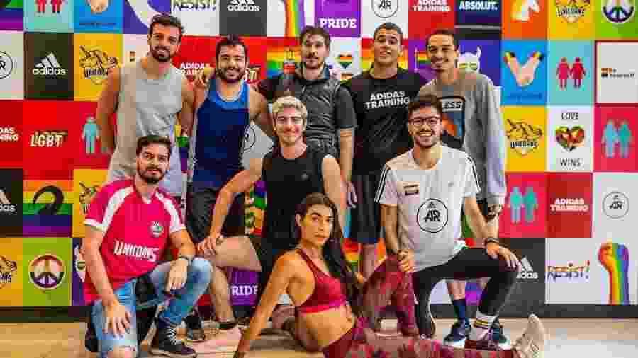 Daniela Lopes e os fundadores do Unicorns Brasil - Divulgação