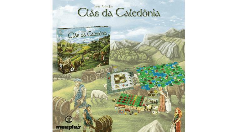 Clãs da Caledonia 1 - Divulgação/Ludopedia - Divulgação/Ludopedia
