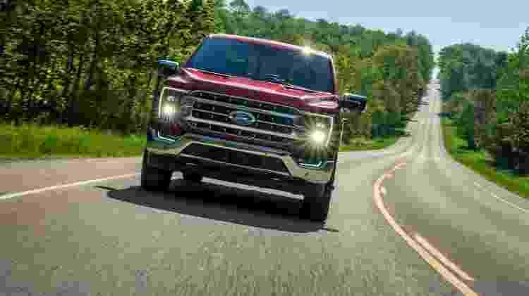 Há muitos anos, Ford F-150 é o veiculo mais vendido dos EUA; em 2020, foram 787.422 unidades - Divulgação - Divulgação