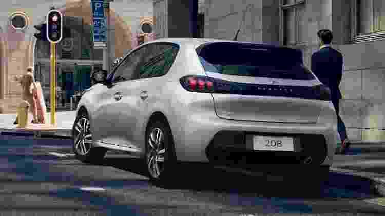 Peugeot 208 - Divulgação - Divulgação