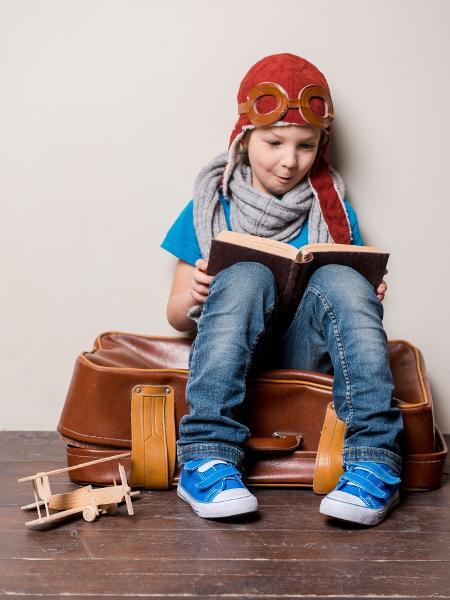 Literatura ajuda todo mundo a viajar sem sair de casa - até os pequenos leitores - Getty Images/iStockphoto