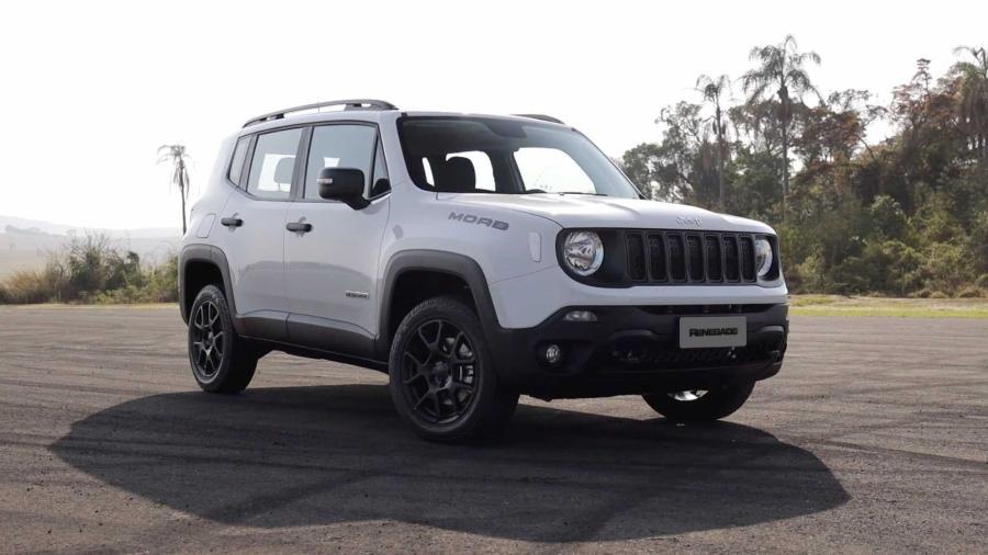 Jeep Renegade - Divulgação