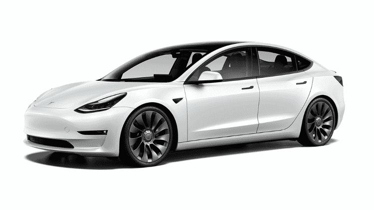 Tesla Model 3 Performance - Divulgação - Divulgação