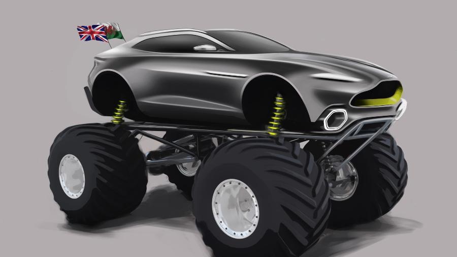 """""""Projeto Esparta"""" da Aston Martin - Divulgação"""