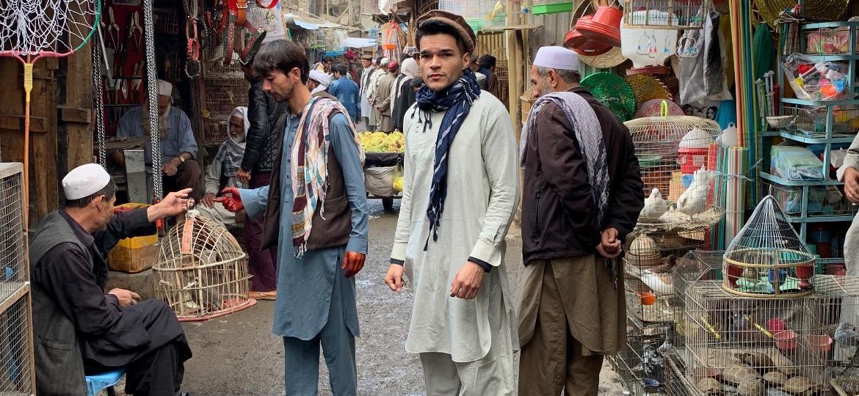 Kalebe na Ka Faroshi, a famosa feira dos pássaros em Cabul, Afeganistão - Arquivo pessoal