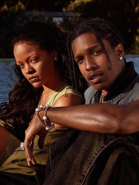 ASAP e Rihanna estão juntos desde o ano passado - Reprodução / Instagram