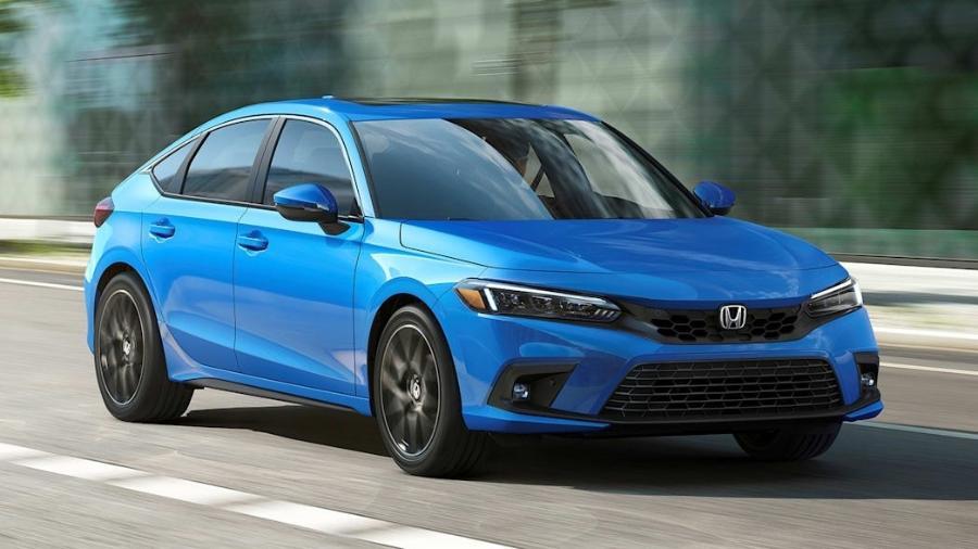 Honda Civic hatch 2022  - Divulgação