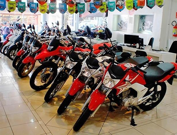 Na Honda, promoções vão desde modelos de entrada até esportivas de 1.000 cc - Doni Castilho/Infomoto