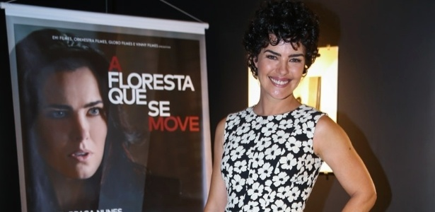 """Ana Paula Arósio posa ao apresentaro filme """"A Floresta que se Move"""" - Manuela Scarpa/Photo Rio News"""