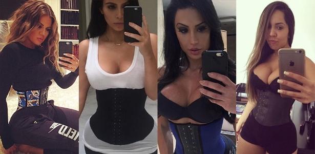 a21471e34 Nova versão de corset aparece nas academias para afinar a cintura  entenda  - 07 12 2015 - UOL Universa