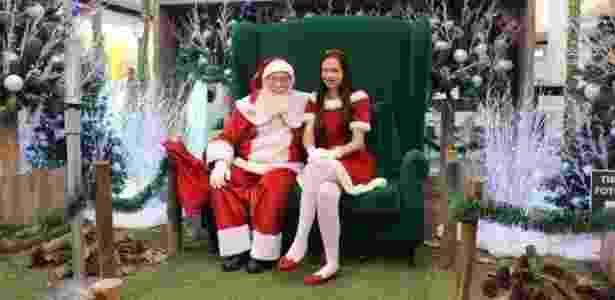 """O Continental Shopping, no Jaguaré, tem a decoração """"Frosted Christmas"""", com neve e as cores branco, azul e cru, que remetem ao Polo Norte. O Papai Noel recebe a criançada de segunda a sábado, das 10h às 22h no 1º Piso. Onde: Avenida Leão Machado, 100, Jaguaré - Divulgação - Divulgação"""