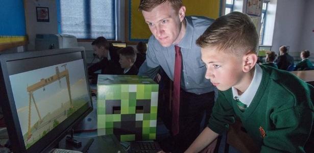 """Sucesso mundial, """"Minecraft"""" tem sua própria versão para escolas e educadores - Reprodução"""