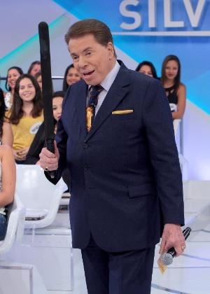 Silvio Santos brinca de ser novamente candidato à presidência em bate-papo com Ratinho - Lourival Ribeiro/SBT