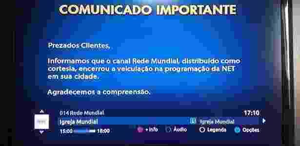 TV Mundial Valdemiro Santiago Igreja Mundial - Reprodução - Reprodução
