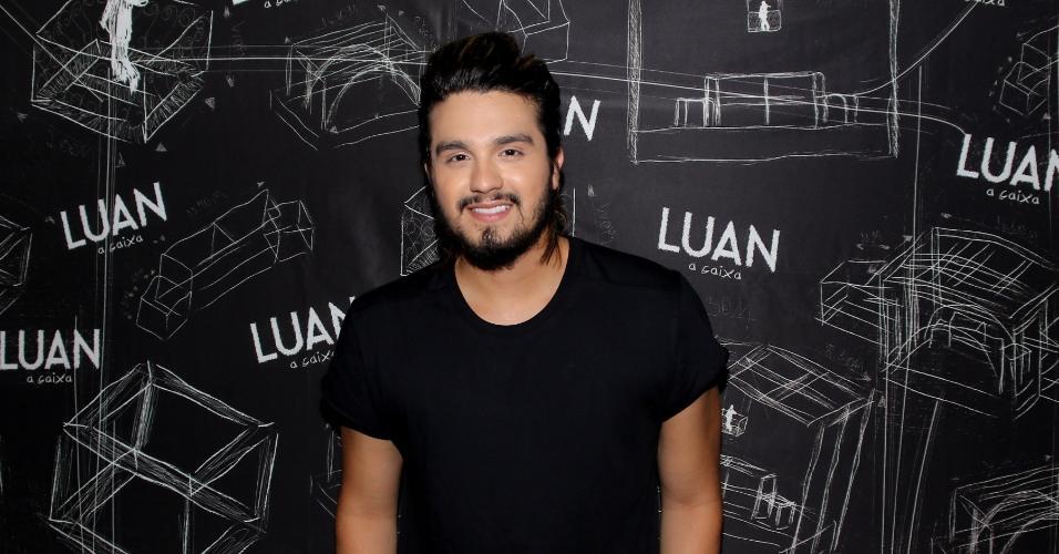 Luan Santana foi uma das atrações da noite sertaneja no Carnaval de Salvador