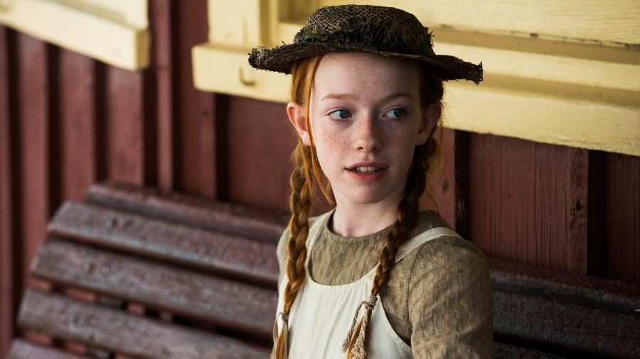"""A atriz Amybeth McNulty, protagonista da série """"Anne with an E"""" - Divulgação/Caitlin Cronenberg/Netflix"""