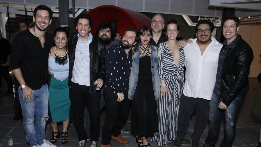 Elenco do Porta dos Fundos  - Thyago Andrade/Brazil News