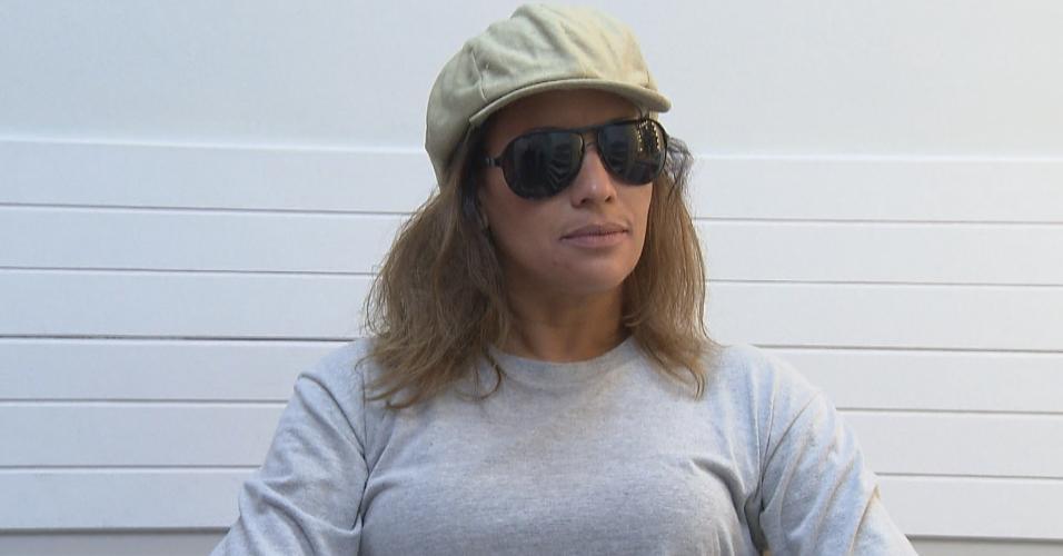 """Renata Alves muda o visual para participar de quadro do """"Programa do Gugu"""""""